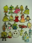 Wholesale Lot Mix Disney Cartoon Jewelry Making Pendants Charms + Coins Bag