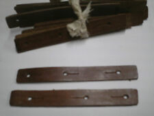 "SKS 7.62 BRAND NEW UNISSUED CHINESE ARMY RIFLE SLING ""LEATHER TABS"" 1 PAIR"