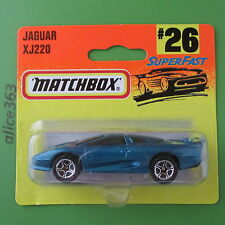 Matchbox 1996 -  Jaguar XJ220  -  26  -    neu in OVP