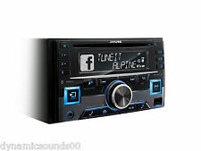 Alpine cde-w296bt Doble Din Cd Mp3 Bluetooth estéreo Aux-in Usb Ipod Iphone