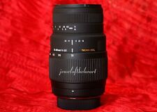 Exc Sigma 70-300mm DG Macro Zoom Lens for Nikon D40 D60 D3000 D3200 D5000 D5200
