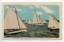 Halifax NS Nova Scotia Racing Scene Royal Halifax Club, sailboat, people