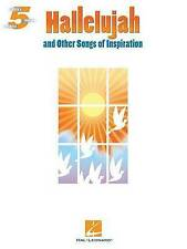 'Hallelujah' and Other Songs of Inspiration by Hal Leonard Corporation...