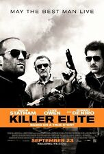 Killer Elite Original Double-Sided One Sheet Rolled Movie Poster 27x40 NEW 2011