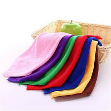 10pcs New Soothing Microfiber Face Towel Cleaning Wash Cloth Hand Towel 25*25cm