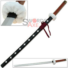 One Piece Anime Wooden Trafalgar Law Sword - Death Surgeon Kikoku Katana Cosplay