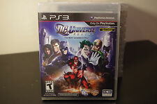 DC Universe Online (Sony Playstation 3, 2011) *New / Factory Sealed