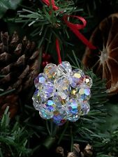 Crystal Christmas Ball Tree Decoration kit with Swarovski Crystals
