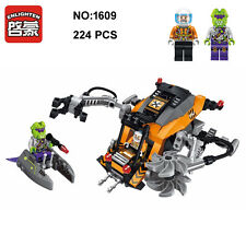 Enlighten 1609 Space Adventure Alien Attack Mining Ship DIY Building Blocks Toy