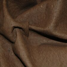 14 SF Brown pig lining natural top grain  leather hide skin Q01A-Z