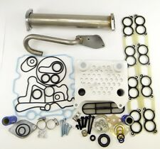 Ford 6.0L Diesel Turbo EGR Delete Kit Engine Oil Cooler & Cooler Kit Gaskets