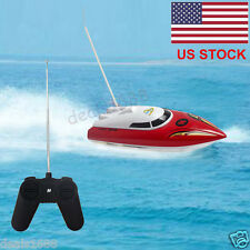10 inch RC Boat + Radio Remote Control RTR Electric Dual Motor Toy Gift US STOCK