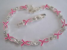 Avon  Breast Cancer Crusade Ribbon Tennis Bracelet