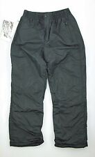 GIRLS YOUTH SKI SNOW BOARD PULSE PULL ON INSULATED PANT NEW MEDIUM BLACK