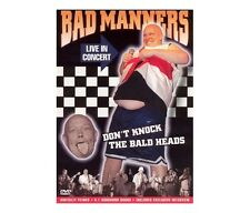 BAD MANNERS - Don't Knock the Bald Heads DVD Buzzcocks The Selecter Specials SLF