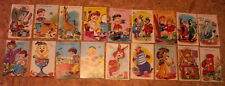 Bulk / Job lot of 18 postcards for kids / children -all different