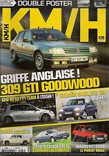 KM/H 26 SAXO VTS 16V SIMCA RALLYE 3 309 GTI GOODWOOD DE TOMASO TURBO CLIO RS