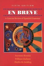World Languages: En Breve : A Concise Review of Spanish Grammar by Phyllis M....
