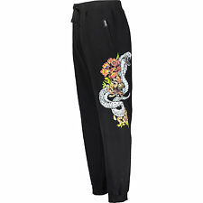 CAVALLI Cobra Tattoo Print Sweatpants XL Givenchy Philipp Plein Dsquared2 pants