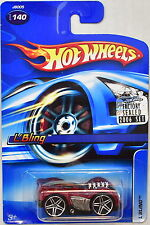 HOT WHEELS 2006 L'BLING #140 RED FACTORY SEALED
