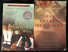 Lot of 2 Audrey Niffenegger books - Her Fearful Symmetry, Time Traveler's Wiife
