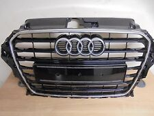 2013 8V On Audi A3 S LINE BLACK GLOSS  Front Grill Grille  genuine audi part