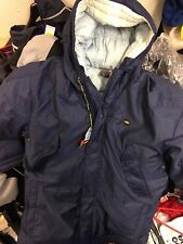 NIKE WINTER  COAT IN NAVY  BLUE/ QUILTE SMAL/MED SIZE 36/38 OR 38/40 NCH BNWL£45
