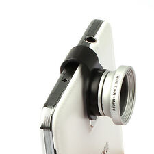 Clip-on Wide Fish Eye fisheye Lens Photo Kit For Samsung Galaxy S3 S4 Note 2 3