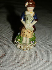 American Girl FELICITY PARTY TREATS GIRL FIGURINE (Only) W/ SHEEP RETIRED 05 MC