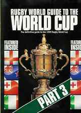 Rugby World Guide to the World Cup (1999) - set of 3 magazines
