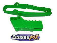 Kawasaki KX125 KX250 2003-2008 Racetech Verde Kit De Guía De La Cadena 3792