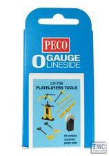 LK-758 O Gauge Plate Layers Tools Peco