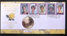 GB 1999 Royal Mail/Mint Diana £5 Coin Philatelic Numismatic Cover FP1272