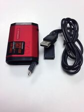 TYLT Zumo Red Portable 1500mAh Battery Pack Built-In Micro USB Cable Samsung