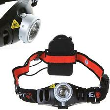 Brillante CREE Q5 LED Con Zoom Chivato Luminoso Linterna De Cabeza 1200 Lumen TH