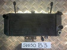 B3 SUZUKI SV 650 SV650 WATER COOLANT RAD RADIATOR 2008 TWIN SPARK MODEL