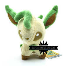 POKEMON LEAFEON PELUCHE pupazzo plush center pokedoll eevee Phyllali Folipurba