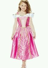 Bnwt DISNEY PRINCIPESSA BELLA ADDORMENTATA AURORA FANCY DRESS UP costume 2-3 anni NUOVO