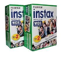 2x 20 Fuji Instax Wide Film for Fujifilm Instant Cameras 210 200 100 (40 photos)