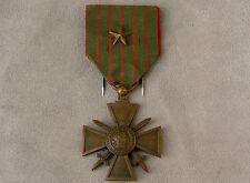 Médaille croix de guerre 14 15 guerre 14 18 WW1 French medal war cross