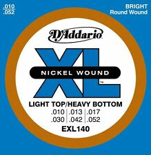 DAddario EXL140 Guitar Strings Light Top Heavy Bottom 10-52 nickel wound