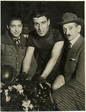 Photo Vélo Cyclisme Vel d'Hiv Prix Dangla Linart Vainqueur Vers 1930