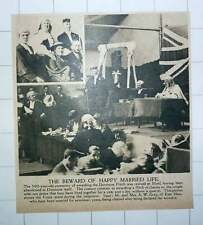 1920 Dunmow Flitch Ceremony Revived Ilford Mr And Mrs A W Gray Happy Winners
