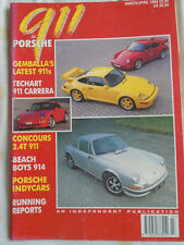 911 & Porsche World Mar/Apr 1994 911 2.4T, Gemballa 911