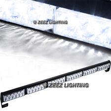 36 White LED Traffic Advisor Emergency Warning Flash Strobe Beacon Light Bar C12