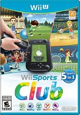 Wii Sports Club (Nintendo Wii U, NTSC, Exclusive Video Game) Brand New Sealed