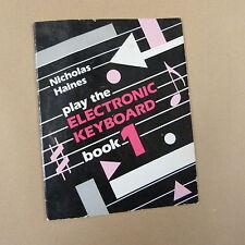 Riprodurre la tastiera elettrica BOOK 1 Nicholas Haines
