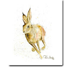 Cotton Animal Tea Towel * Hare * Country Kitchen
