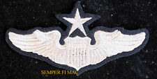 USAF SENIOR PILOT WING PATCH US ARMY CORPS US AIR FORCE PILOT OFFICER