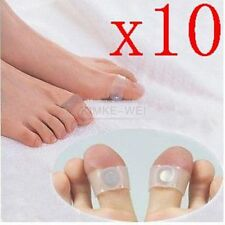 10 Pairs Slimming Health Silicon Magnetic Foot Massage Toe Ring New